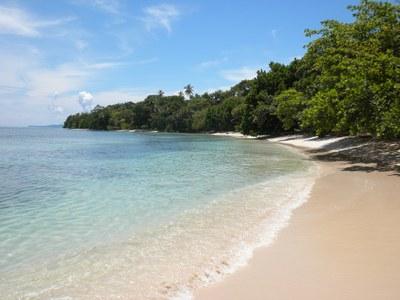Praia e Oceano Panama
