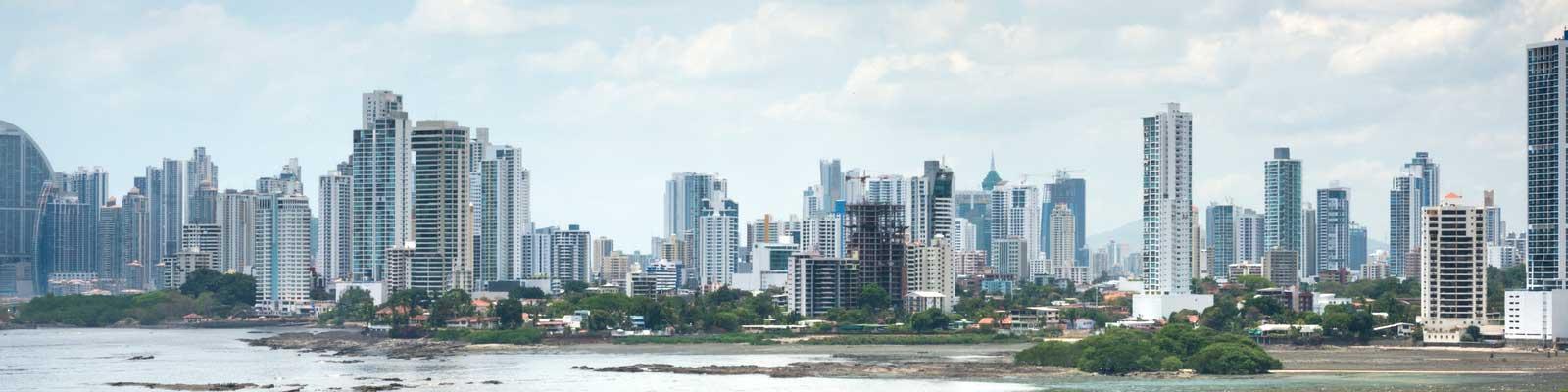 Panama Paisagem Cidade e Mar Compre, Venda. Vilas e Pousadas.